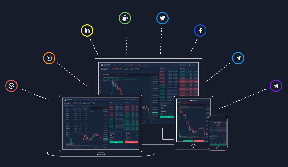 New design of Dex-Trade