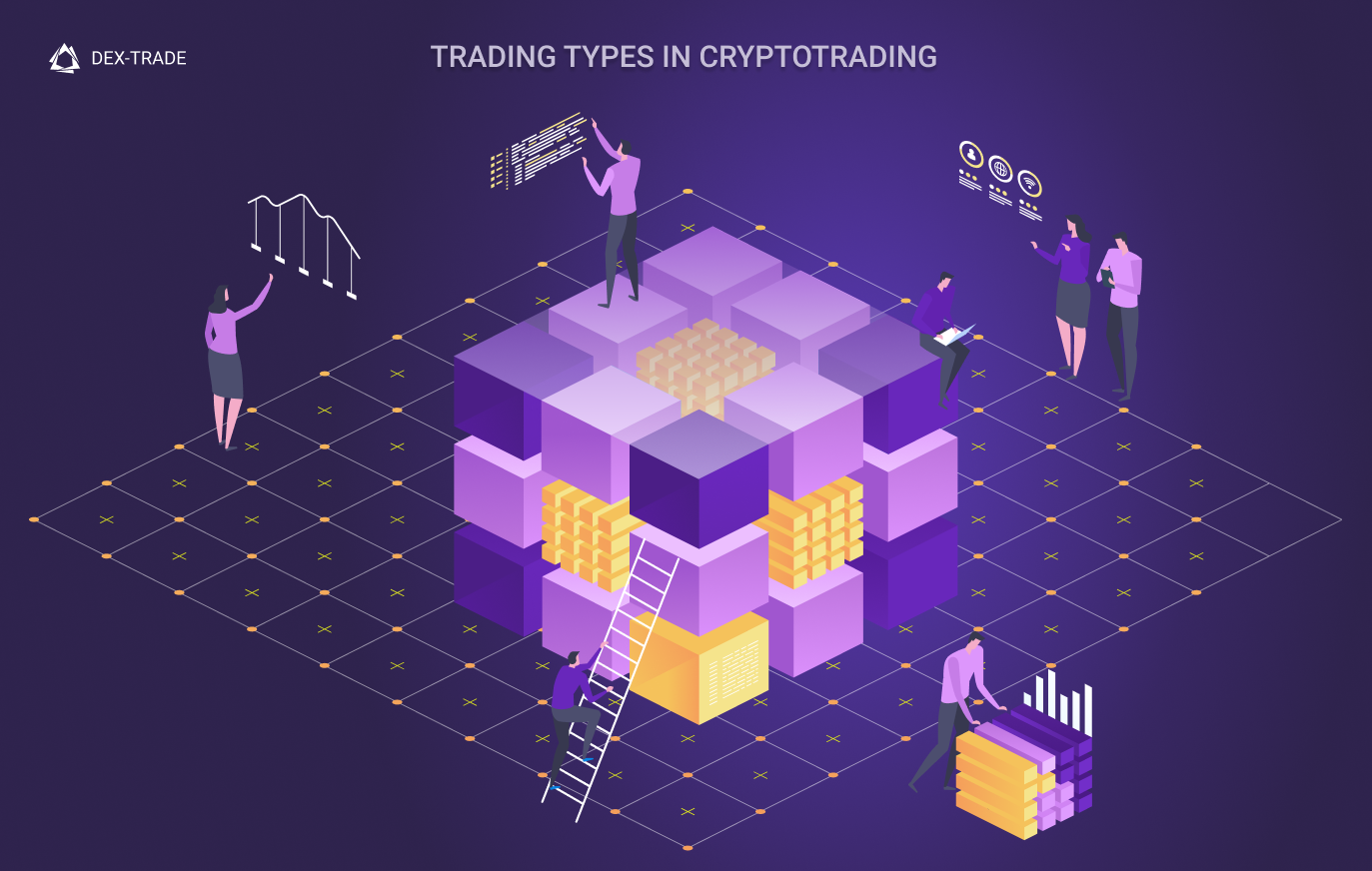 TRADING TYPES IN CRYPTOTRADING: MARKET, LIMIT AND STOP-LIMIT