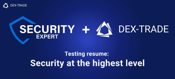 Increasing the security level of Dex-Trade