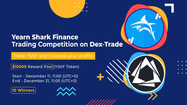 Trade and win $10000 Worth YSKF token