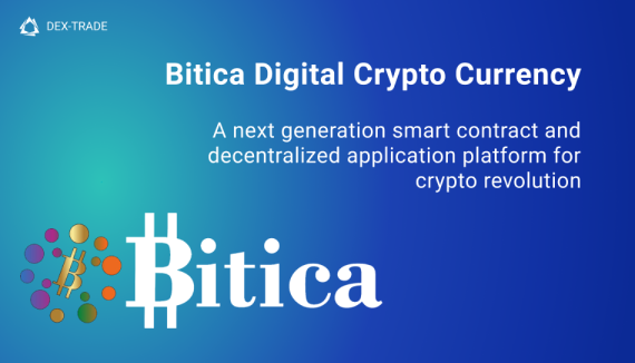 BITICA COIN (BDCC) will be listed on Dex-Trade Exchange