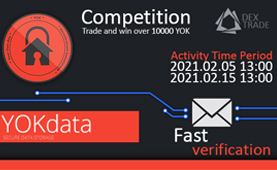Trade and win over 10000 YOK token