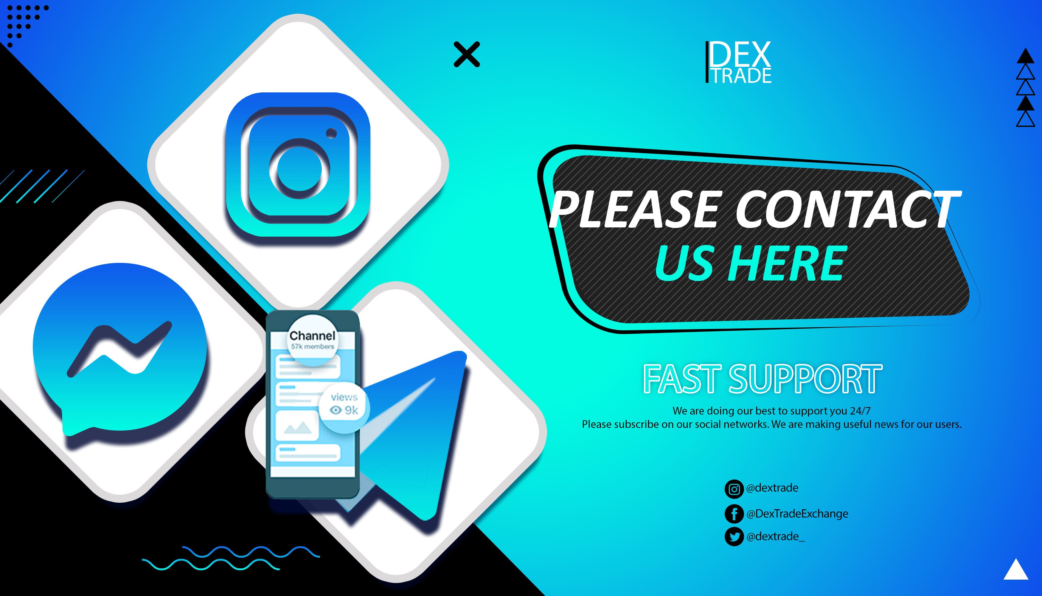 Follow our social networks