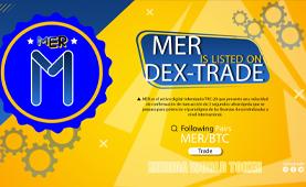 MERIDAWORLD (MER) is listed on Dex-Trade