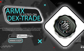 ARMXunidos (ARMX) is listed on Dex-Trade