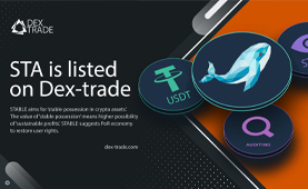 STABLE ASSET is listed on Dex-Trade