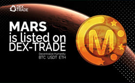 Marscoin IS LISTED ON DEX-TRADE