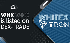 WhiteX (WHX)  is listed on Dex-Trade