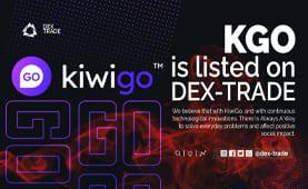 KIWIGO IS LISTED ON DEX-TRADE