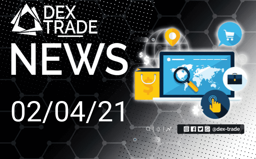 Dextrade Crypto Market Overview April 2 | Dex-Trade