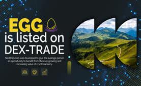 NestEGG Coin  (EGG) is listed on Dex-Trade