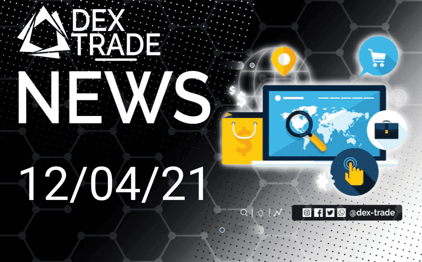 Crypto Market Overview April 12 | Dex-Trade