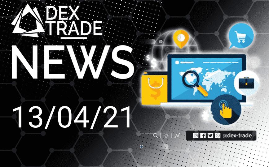 Crypto Market Overview April 13 | Dex-Trade