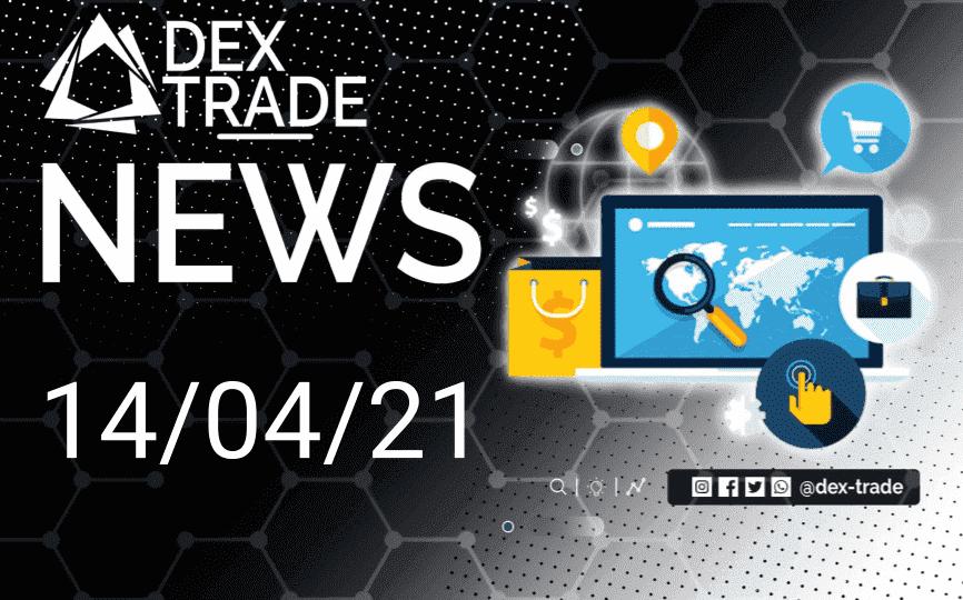 Crypto Market Overview April 14 | Dex-Trade