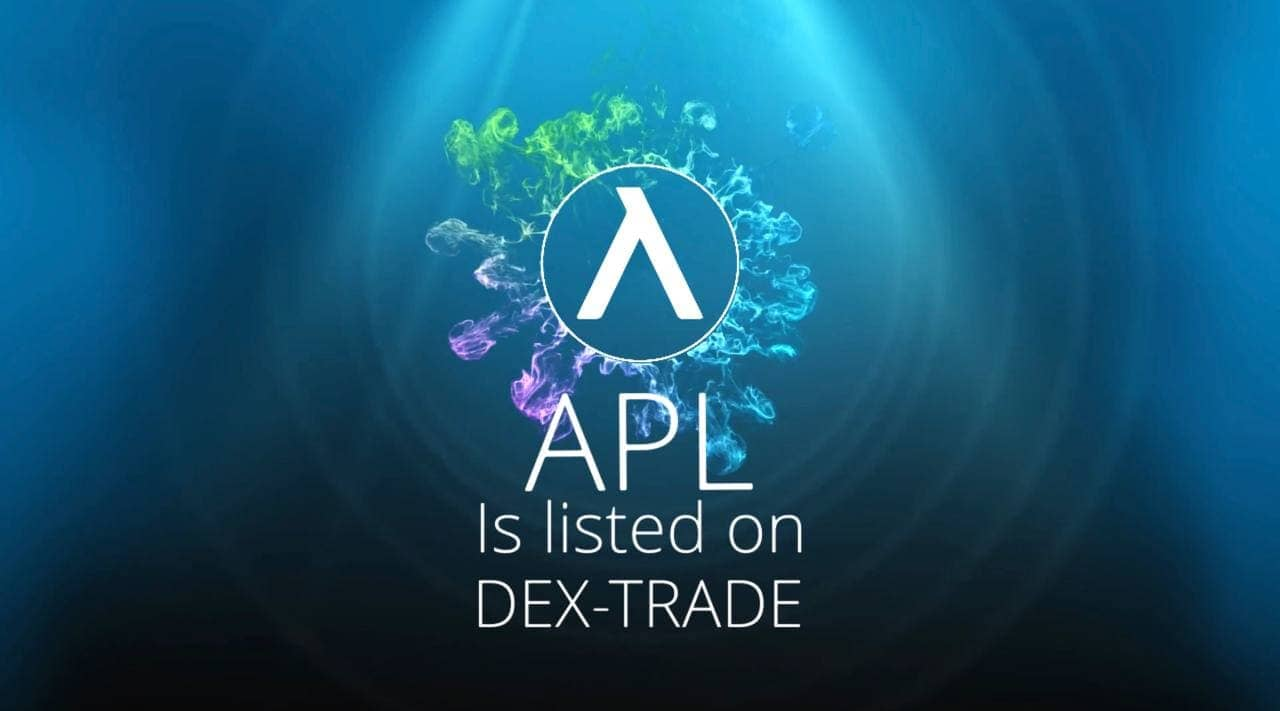 Apollo Currency  IS LISTED ON DEX-TRADE