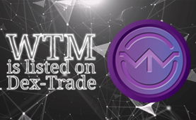 Waytom  (WTM )  is listed listed on Dex-Trade