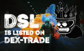 DeadSoul (DSL) is listed on Dex-Trade