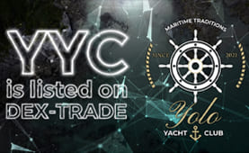 Yolo Yacht Coin (YYC) is listed on Dex-Trade