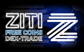 New coin ZITI added to Free coins | Dex-Trade