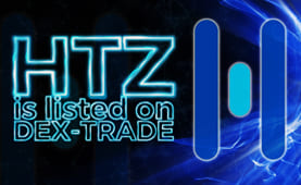 Hertz Network (HTZ) is listed on Dex-Trade