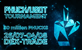 Phuck Trading Competition, 50 000 000 PHUCK to Give Away