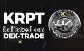 KriptoCoin (KRPT) is listed on Dex-Trade