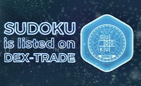 Sudoku inu (SKU) is listed on Dex-Trade
