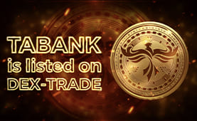 Tabank (TAB) is listed on Dex-Trade