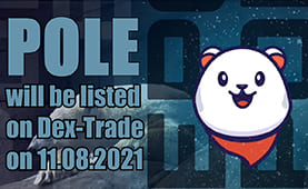 SouthPole (POLE) will be listed on Dex-Trade