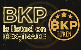 BIKPOT (BKP) is listed on Dex-Trade