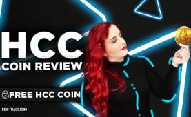 Now you will have a unique chance to get free HCC coins!
