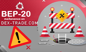 BEP-20 maintenance on Dex-Trade
