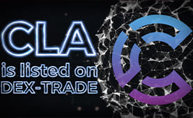 Candela Coin (CLA) is listed on Dex-Trade