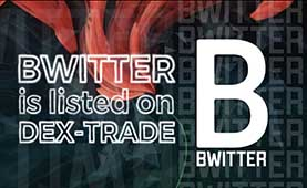 Bwitter (BT) is listed on Dex-Trade