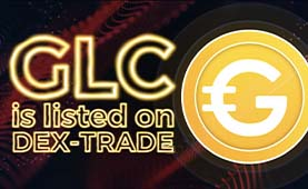 Goldcoin (GLC) is listed on Dex-Trade