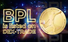 Betsplayer (BPL) is listed on Dex-Trade