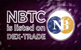 NeoBITCOIN(NBTC) is listed on Dex-Trade
