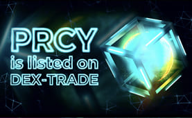 PRCY is listed on Dex-Trade