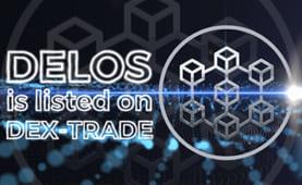 Delos Defi  (DELOS) is listed on Dex-Trade