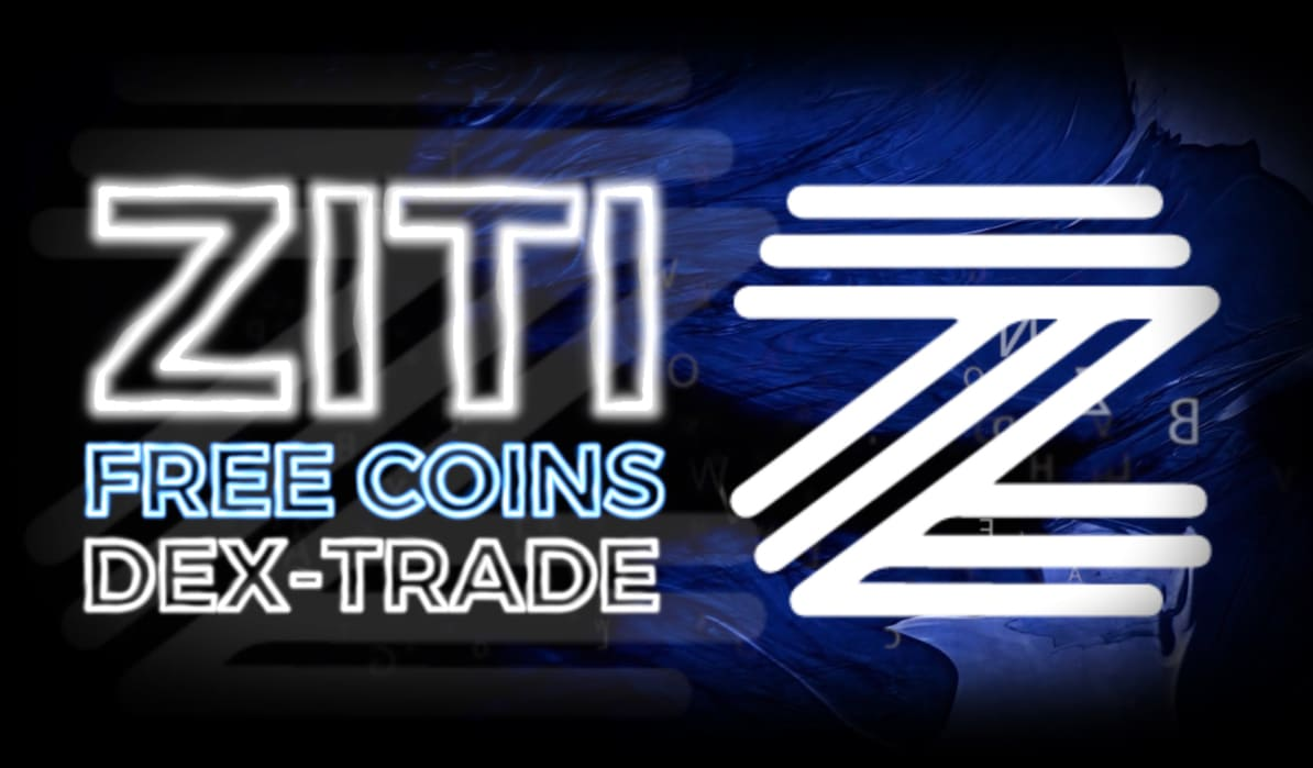 Image of the logo and text about the possibility of obtaining ZITI for free