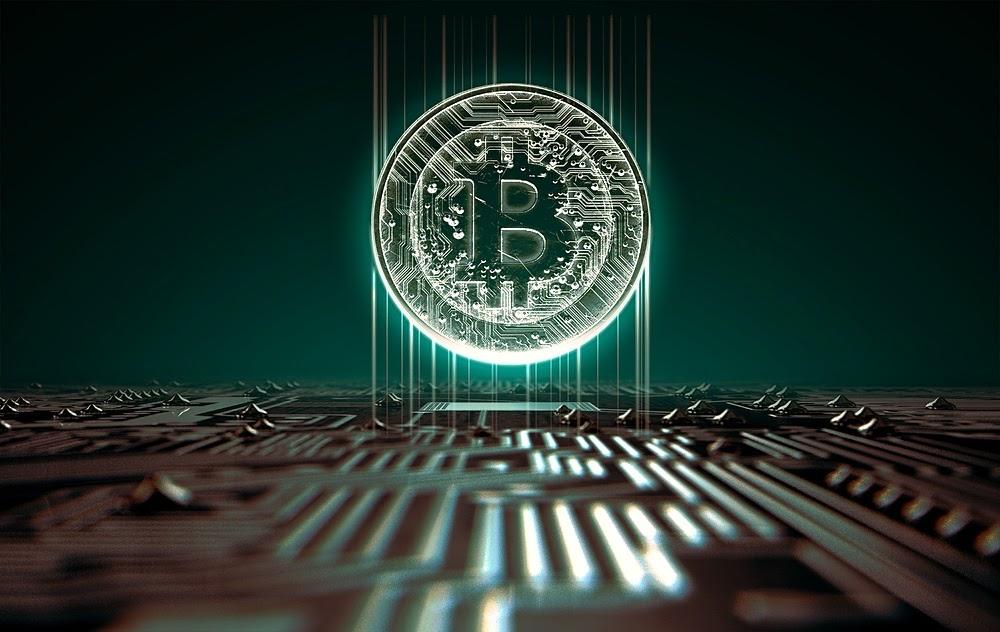 Bitcoin coin image
