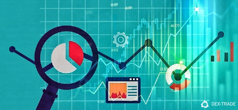 symbolic image of a stock chart